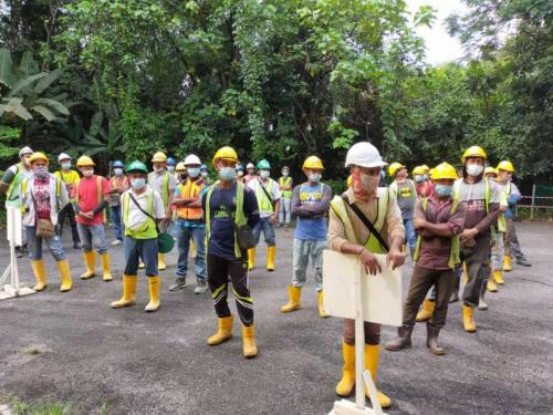Fire drill conducted on 25.9.20.