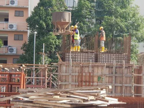 LG1 – casting of the lift core